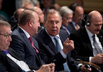Lavrov ve Çavuşoğlu, Libya'da askeri faaliyetlerin derhal durdurulmasından yana