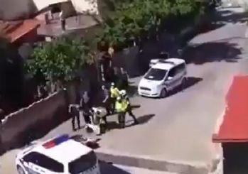 Çorlu'da yasağa uymayan vatandaşlara polis müdahalesi