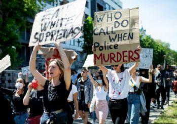 ABD'deki ırkçılık karşıtı protestolar Avrupa'ya sıçradı