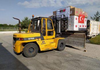 Türkiye Afganistan'a tıbbi yardım gönderdi