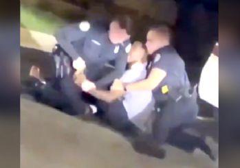 ABD'de yine polis şiddeti! Aracında uyuyan siyahi adamı öldürdüler