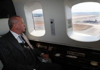 Erdoğan İstanbul'da 3'üncü pisti açtı