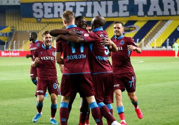 Trabzonspor final biletini kaptı! 3-1