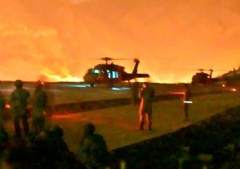 Kuzey Irak'a kara harekatı başladı! Komandolar Haftanin'de