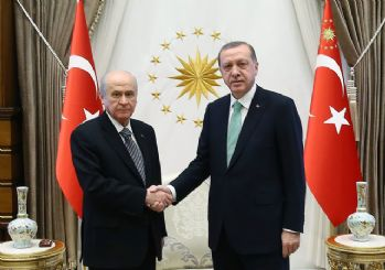 Erdoğan-Bahçeli görüşmesi: Seçimin 2023'te olması için mutabık kaldılar