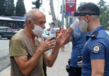 Beşiktaş'ta maske denetimi yapıldı, takmayanlara ceza yazıldı