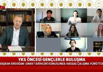 Erdoğan, YKS neden ertelenmedi sorusunu yanıtladı