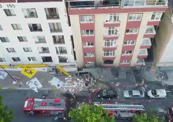 Bahçelievler'de patlama: 1 ölü, 10 yaralı