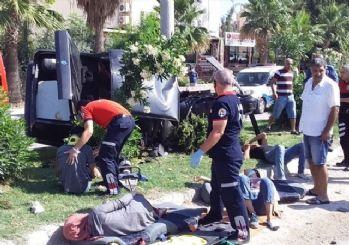 Kızlarını YKS'ye götüren sürücünün otomobili kaza yaptı: 5 yaralı