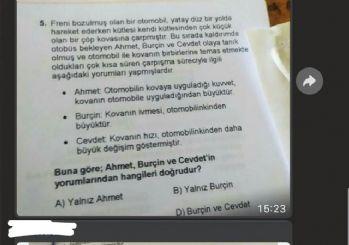 ÖSYM: Soru kitapçığını sosyal medyada paylaşan adaya yasal süreç başlatıldı