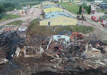 Sakarya'daki havai fişek fabrikasındaki patlamada sabotaja rastlanmadı