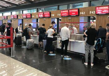 Haziran ayında hava yolu kullanan yolcu sayısı 2 milyon 750 bin oldu