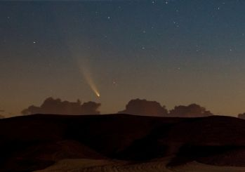Neowise kuyruklu yıldızı Ankara semalarında gözlendi