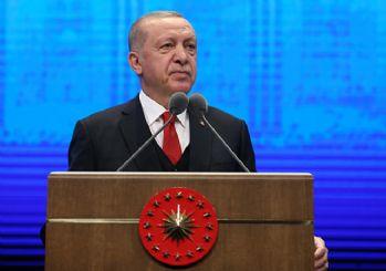 Erdoğan: Hakkını söke söke alan ülke olarak devam edeceğiz