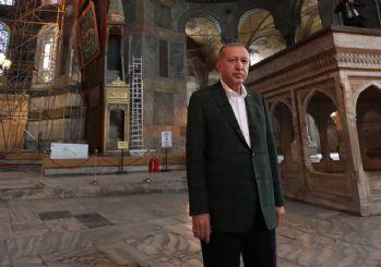 Cumhurbaşkanı Erdoğan ikinci kez Ayasofya'da