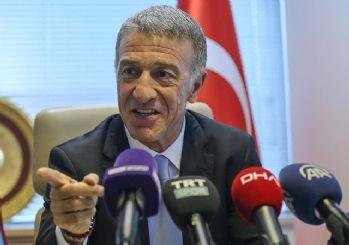 Trabzonspor Başkanı Ağaoğlu: Çakallar bilsin, meydanı onlara bırakmayacağız