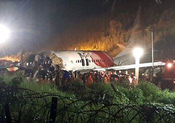 Hindistan'da uçak kazası: Ölü ve yaralılar var