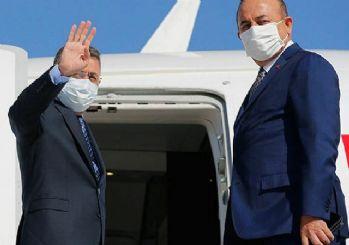 Cumhurbaşkanı Yardımcısı Oktay ve Bakan Çavuşoğlu Beyrut'a gitti