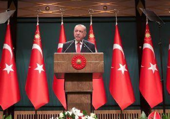 Erdoğan'dan kur mesajı: Suni rüzgarlarla eğilip bükülebilecek ülke değiliz!