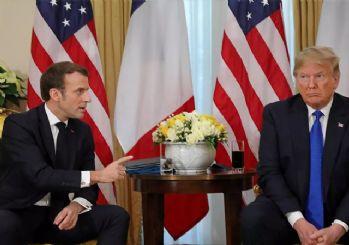 Trump ile Macron Doğu Akdeniz'deki gerginliği görüştü