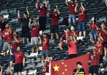 Çin'de seyircili maçlar başladı