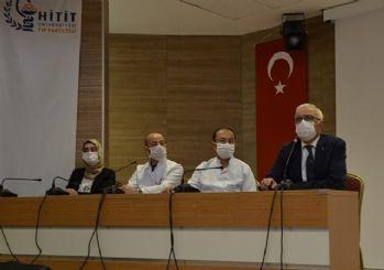 Çorum'da son bir ayda 40'tan fazla sağlık çalışanı Kovid-19'a yakalandı