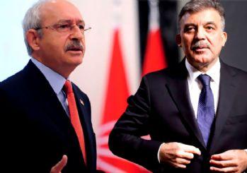 CHP'den Abdullah Gül'e büyük şok!