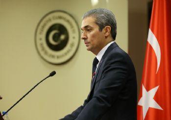 Dışişleri Bakanlığı Sözcüsü Aksoy: Yunanistan gerginliği azaltmalı