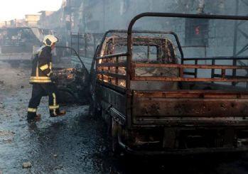 Afrin'de terör saldırısı 3 ölü 32 yaralı