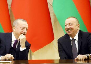 Aliyev'le görüşen Erdoğan: Türkiye her zaman güçlü destekle Azerbaycan'ın yanında
