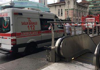 İstanbul'da metro istasyonunda intihar girişimi