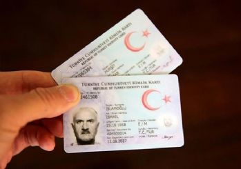Sürücü belgesi kimlik kartına yükleniyor