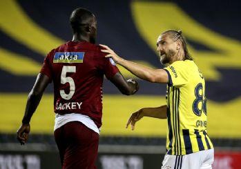 Fenerbahçe 9 kişi kalan Hatayspor ile berabere kaldı