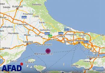 İstanbul 4,2 büyüklüğünde depremle sallandı