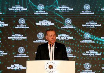 Erdoğan Gaziantep'te 300 fabrika açtı: Ekonomimiz rekorlara koşacak!
