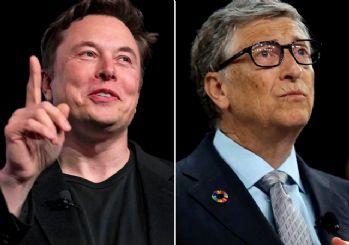 Elon Musk'tan Bill Gates'e: Taş kafalı