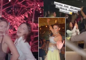 İstanbul'da dansözlü parti: 'Corona bak dalgana kardeşim...'