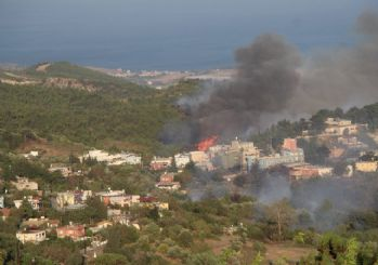 Hatay'da orman yangınını söndürme çalışmaları sürüyor: 'Gözaltılar var'