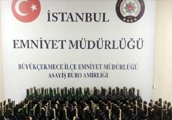 İstanbul'da sahte içki operasyonunda 3 kişi gözaltına alındı