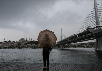 İstanbul dahil çok sayıda ile kuvvetli yağış ve fırtına uyarısı