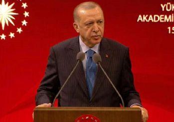 Erdoğan'dan üniversitelerde yüz yüze eğitim açıklaması