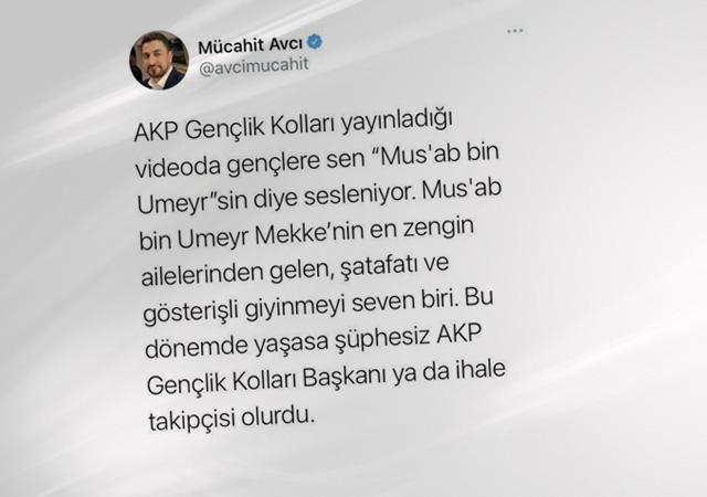 CHP'li Mücahit Avcı sahabeye hakaret etti