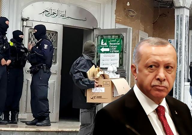 Erdoğan: Berlin'de camiye polis operasyonunu şiddetle kınıyorum