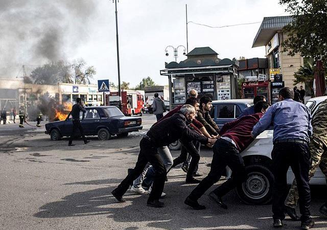 Ermenistan yine sivilleri vurdu: Berde'de onlarca sivil öldü