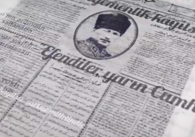 MSB'den cumhuriyetin 97. yılına özel video