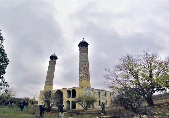 MSB: Yıllar sonra Ağdam'da ezan sesi duyuldu