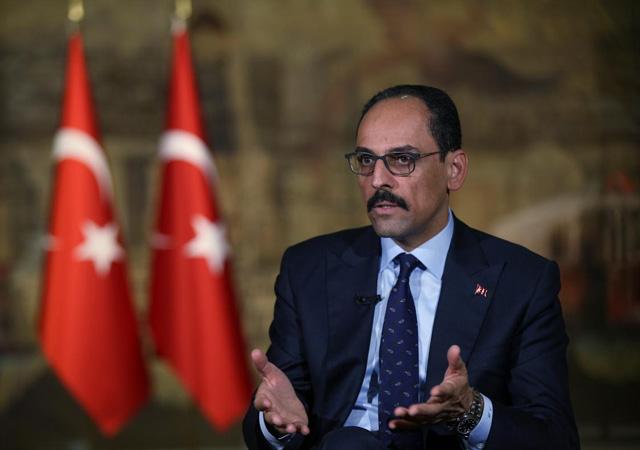 Kalın: Türkiye'ye yaptırım diliyle konuşulursa onlar kaybeder