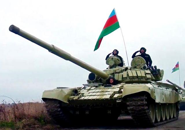 Azerbaycan ordusu Kelbecer'e girdi
