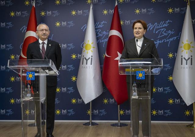 Kemal Kılıçdaroğlu ile Meral Akşener erken seçim istedi
