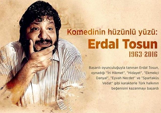 Tiyatro camiasının güler yüzlü ağabeyi: Erdal Tosun